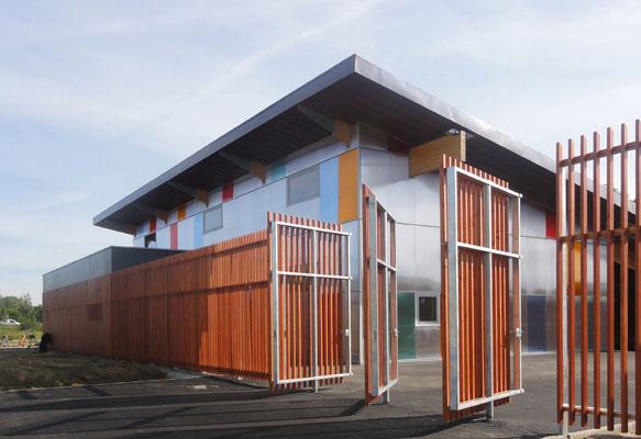 Goudenege Architectes Equipements Sportifs Gymnase Melun